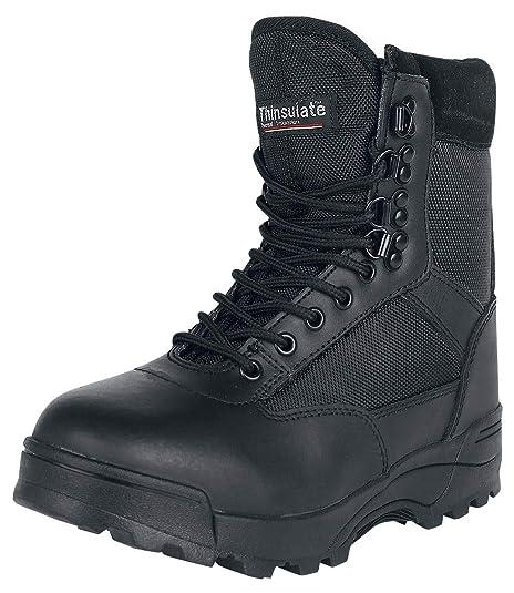 668f6cb5d9 Brandit Zipper Tactical Boots Black  Amazon.co.uk  Shoes   Bags