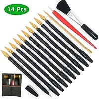 Scratch Tools, Scratch Color Pen Dual Tip Scratch Coloring Stylus Paper Art Set for for Kids Art Supplies 14 PCS