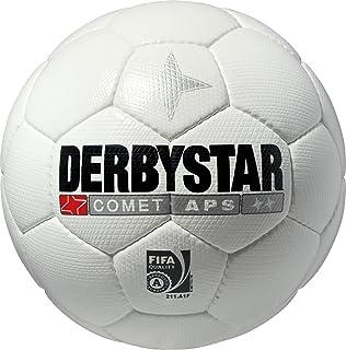Derbystar 1173500100 - Pallone da calcio Comet APS, 5, colore: Bianco/arancione