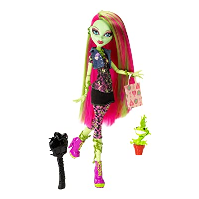 Monster High Doll Venus McFlytrap Daughter of the Plant Monster: Toys & Games