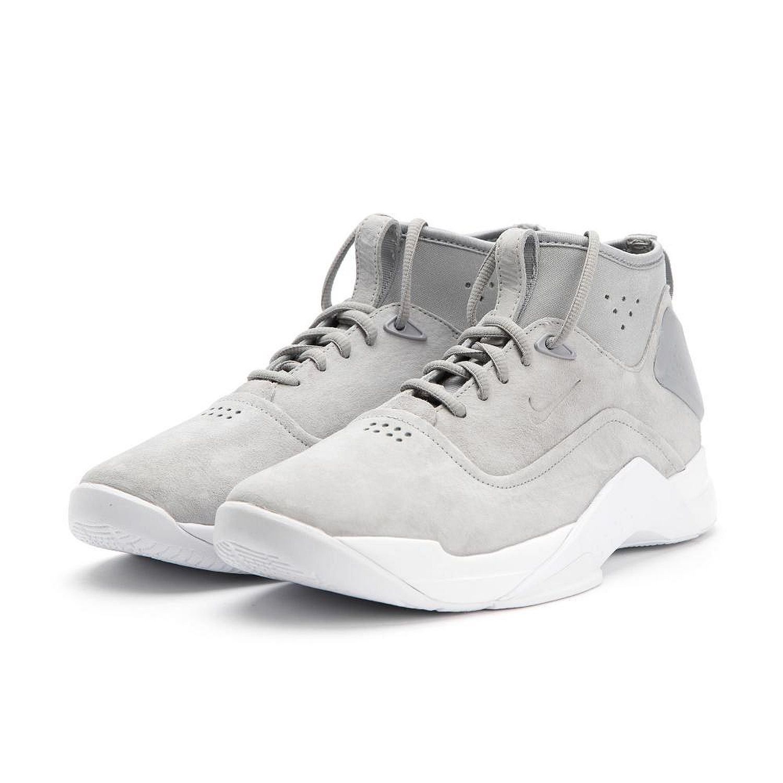 NIKE Men's Hyperdunk Low Crft Basketball Shoe B072QDGKVH 13 M US|Wolf Grey / Wolf Grey-white