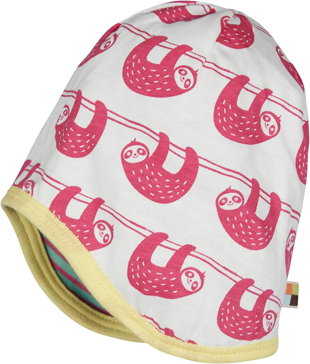 loud proud Reversible cap Organic Cotton Cappellopello Bambina