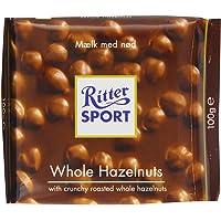 Ritter Sport Whole Hazelnuts 100 g (Pack of