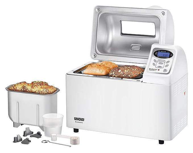 Unold 68511 - Máquina de hacer pan, 700W, color blanco [Importado ...