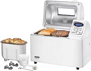 Unold 68511 - Máquina de hacer pan, 700W, color blanco [Importado de Alemania]
