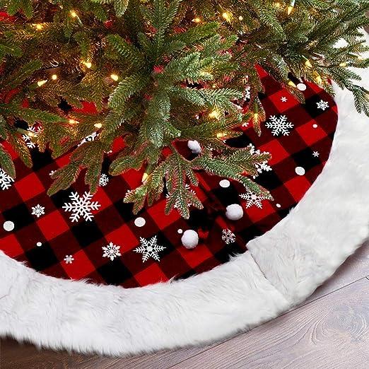Stylish Christmas Tree Decoration Foldable Rattan Christmas Tree Skirt