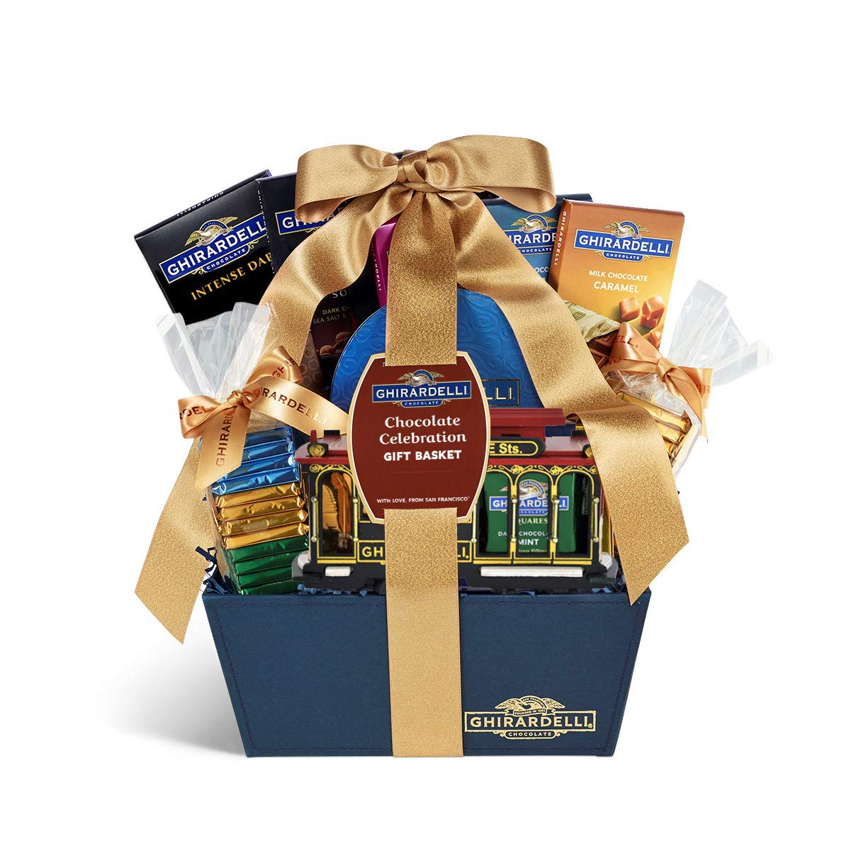 Ghirardelli San Francisco Celebration Gift Basket Business Gift