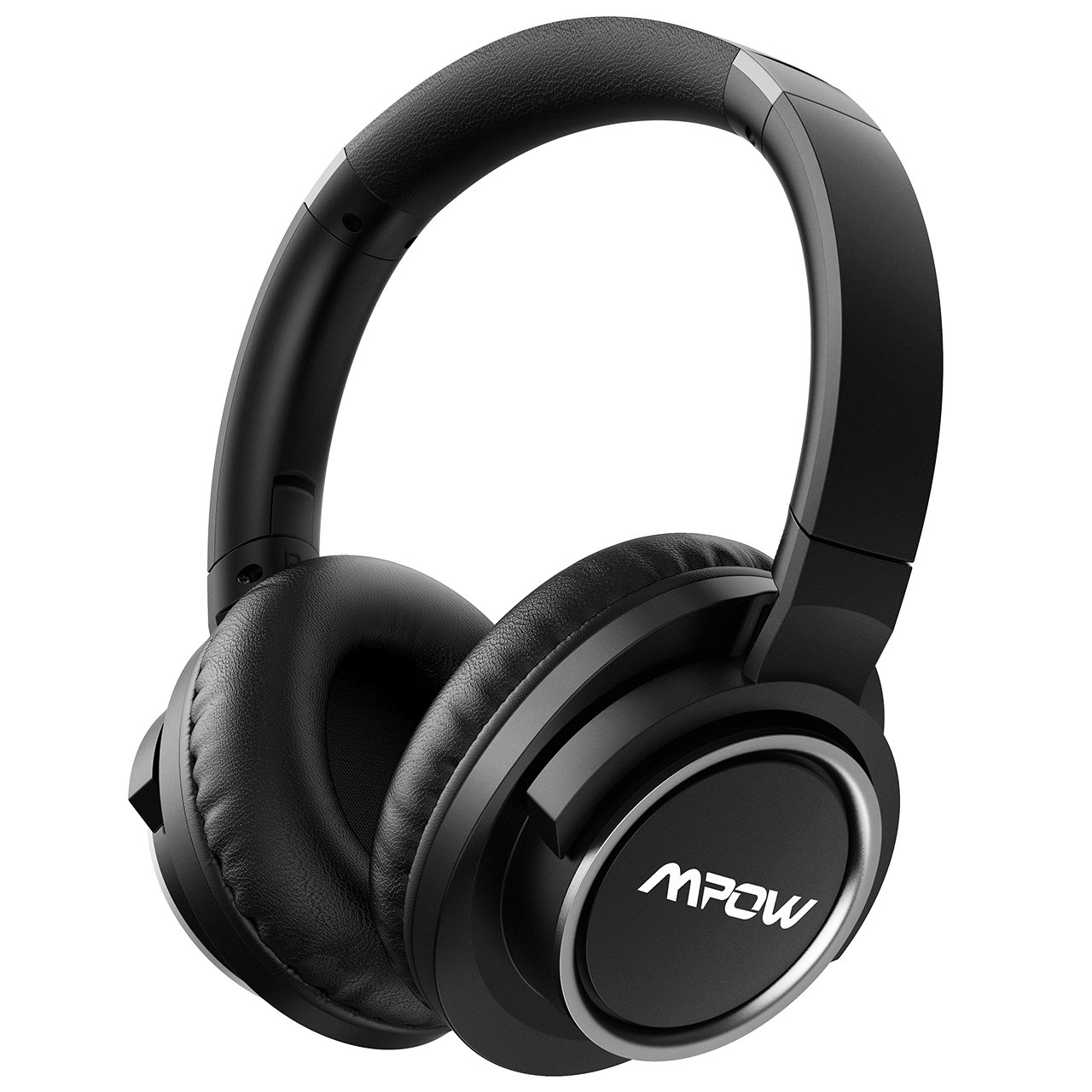 Mpow H3 Active Noise Cancelling Headphones, ANC Over Ear Bluetooth Headphones w/Mic, Better Noise Cancelling Effect 25-50 Hours Playtime, Foldable Wireless Headset Cell Phone/PC