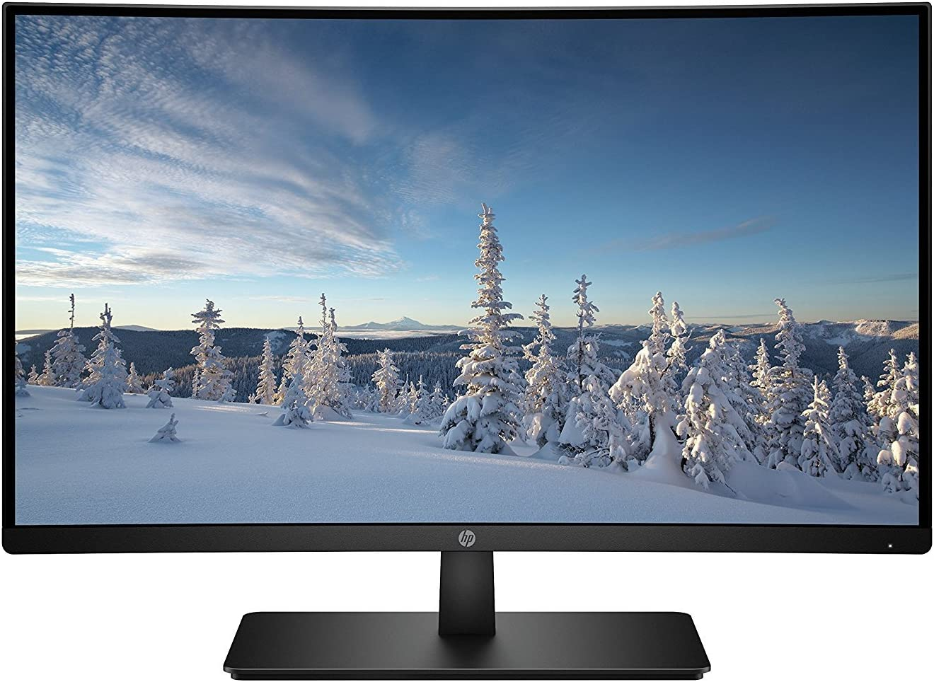 HP 27-inch FHD Curved Monitor with AMD Freesync Technology (27b, Black)
