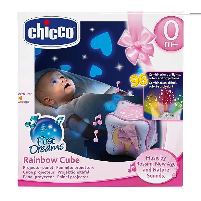 Chicco Proyección Rainbow Cube rosa de 0 a 36 meses: Amazon.es ...