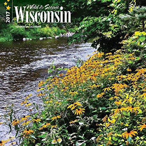 Wisconsin, Wild & Scenic - 2017 Calendar 12 x 12in (Scenic Desk Calendar)