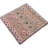 Chinesisches Schach Xiangqi mit Magnetic Travel Set, T Tocas (Medium (Schachbrett 25 x 25 x 2 cm))