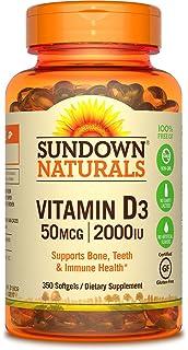 1b6824f7a Amazon.com  Sundown Naturals Vitamin D3 5000 IU