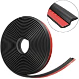 Quner 4M Z-type Self Adhesive Automotive Rubber Seal Strip for Car Door Window Engine Cover Anti-dust Weatherstrip Automotive