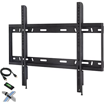 Amazon Com Low Profile Fixed Tv Wall Mount For 42 Quot 90