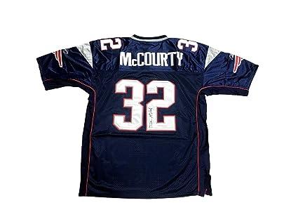 Devin McCourty Autographed Jersey - Home Blue - JSA Certified - Autographed  NFL Jerseys bab4a1956