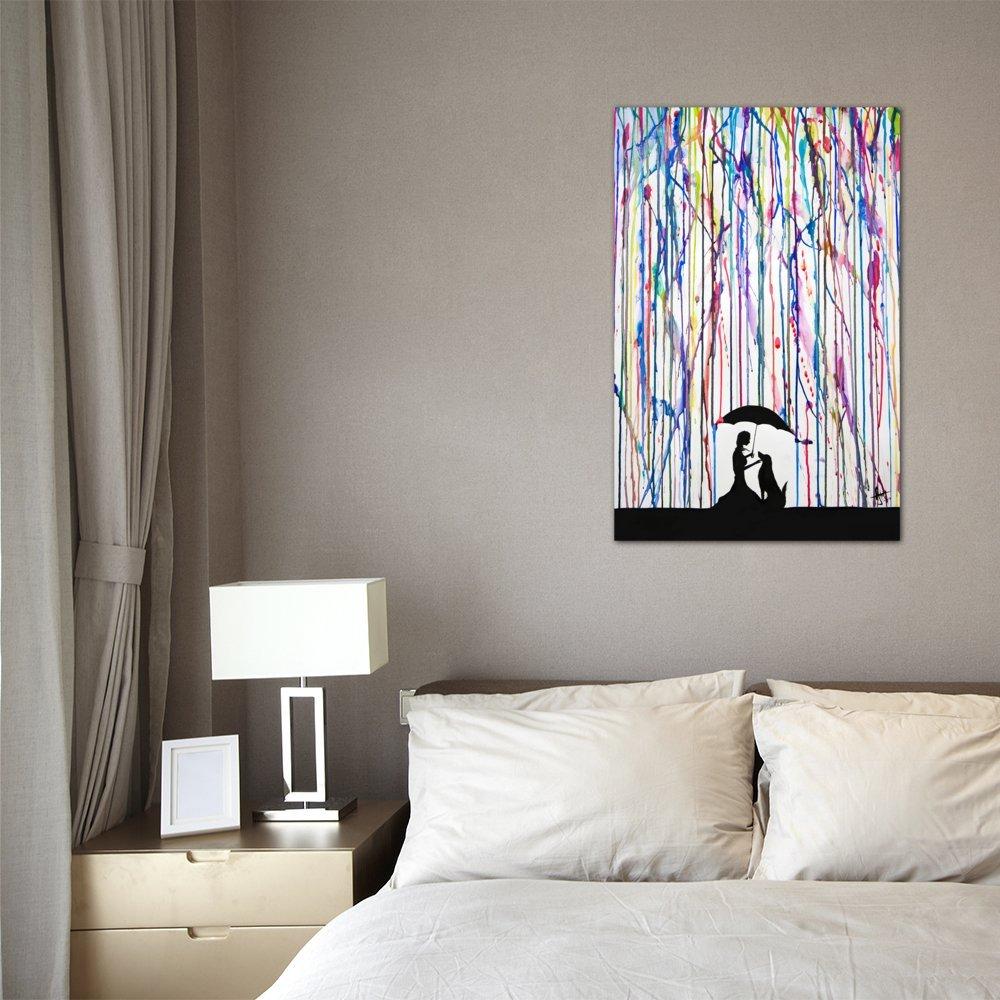 iCanvasART MAE26 Sempre by Marc Allante Canvas Print 12 by 8-Inch 0.75-Inch Deep MAE26-1PC3-12x8
