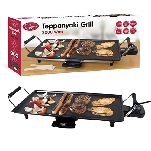Quest Benross Quest Electric Teppanyaki  Grill, 2000 Watt