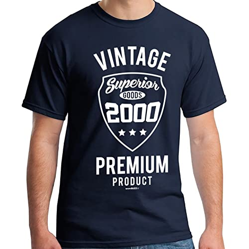 18th Birthday Gifts For Boys Vintage Premium 2001 T Shirt Men