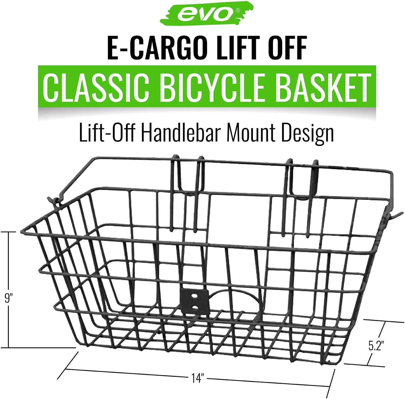 EVO E-Cargo Lift Off Classic Basket White