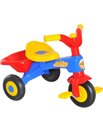 8f1a9e8a225 HOMCOM Kids Toddler 3 Wheels Pedal Bike Ride-on Bicycle Tricycle First Trike  Scooter Baby