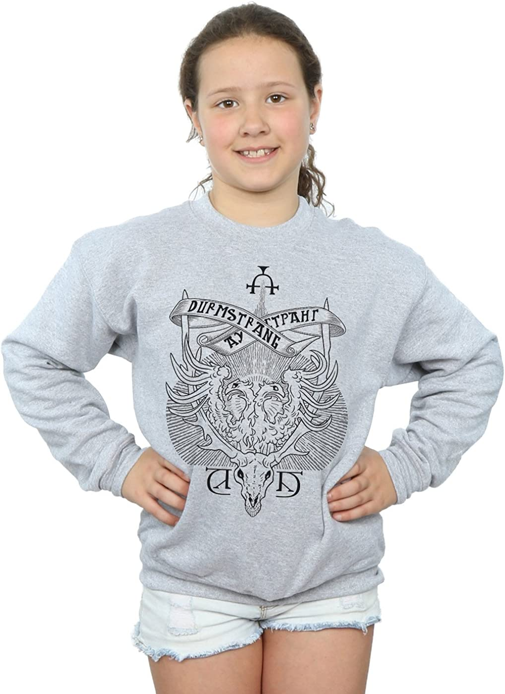 Harry Potter Girls Durmstrang Institute Crest Sweatshirt Amazon Co Uk Clothing She's the youngest seer in europe in over. amazon co uk