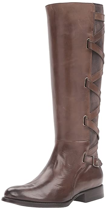 1ad9f580c97 FRYE Women's Jordan Strappy Tall Riding Boot
