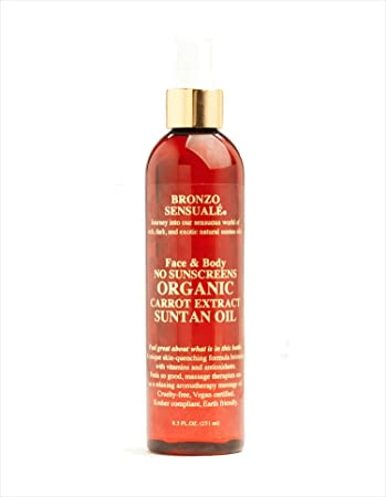 Bronzo s SPF 0 Certified Organic Carrot Oil 8.5 oz.