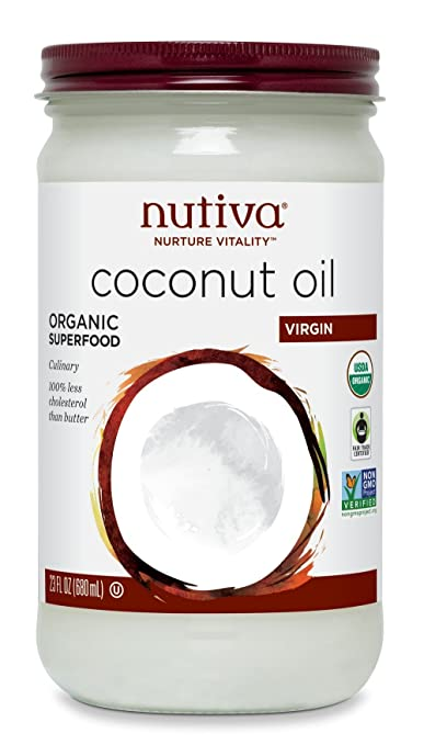 Nutiva Organic Virgin Coconut Oil, 23 Ounce