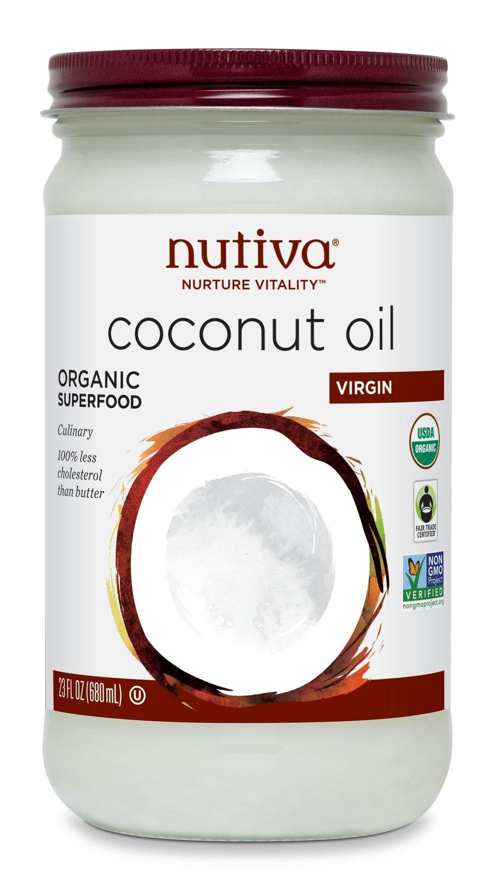Nutiva Organic Virgin Coconut Oil, 23 Ounce