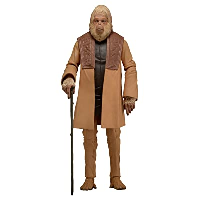 "NECA Planet of The Apes 7"" Classic Series 2 Dr. Zaius v. 2 Action Figure: Toys & Games"
