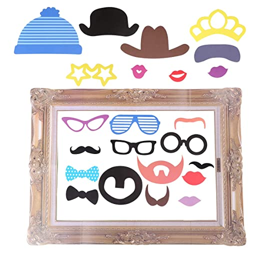 BESTOYARD 24pcs Accesorios photocall DIY Photo Booth Props ...