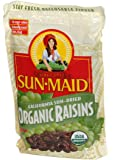 SunMaid California Sun-Dried Organic Raisins 32 Ounces