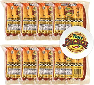 product image for Tony Packo's World Famous Hickory Smoked Authentic Hungarian Hot Dogs - 5 Dogs per Pack - Includes a FREE Jar Opener