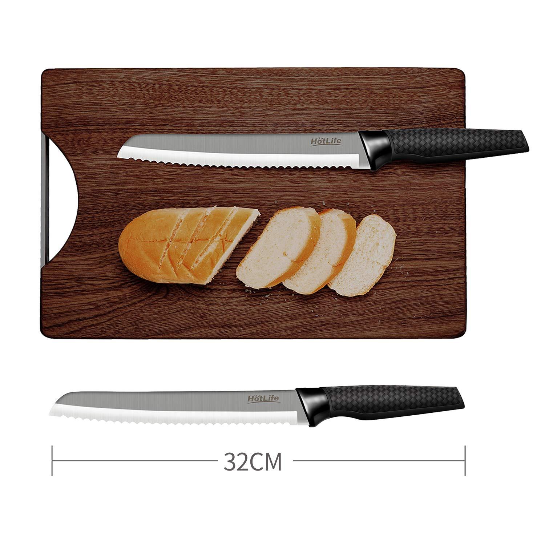 Amazon.com: Juego de 5 cuchillos de cocina de acero ...