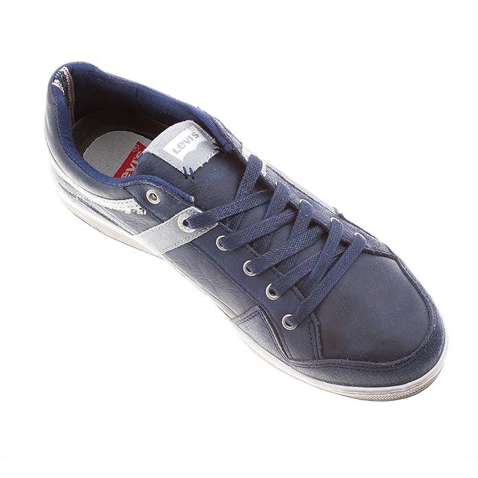 Levi's Men's Leather Lace up Trainer Shoe (222487): Amazon.co.uk: Shoes &  Bags