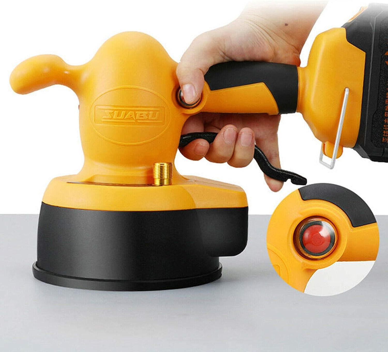 OUKANING Hand-held Tile Tiler Automatic Leveling Machine 400W Floor Tile Vibrator Leveler Tool