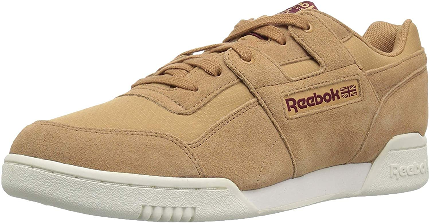 Reebok Men's Workout Plus Cross Trainer, rs Soft Camel Rustic Wine
