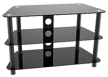 Ricoo Meuble Tv Led Moderne De Salon Pour Television Ecran Plat