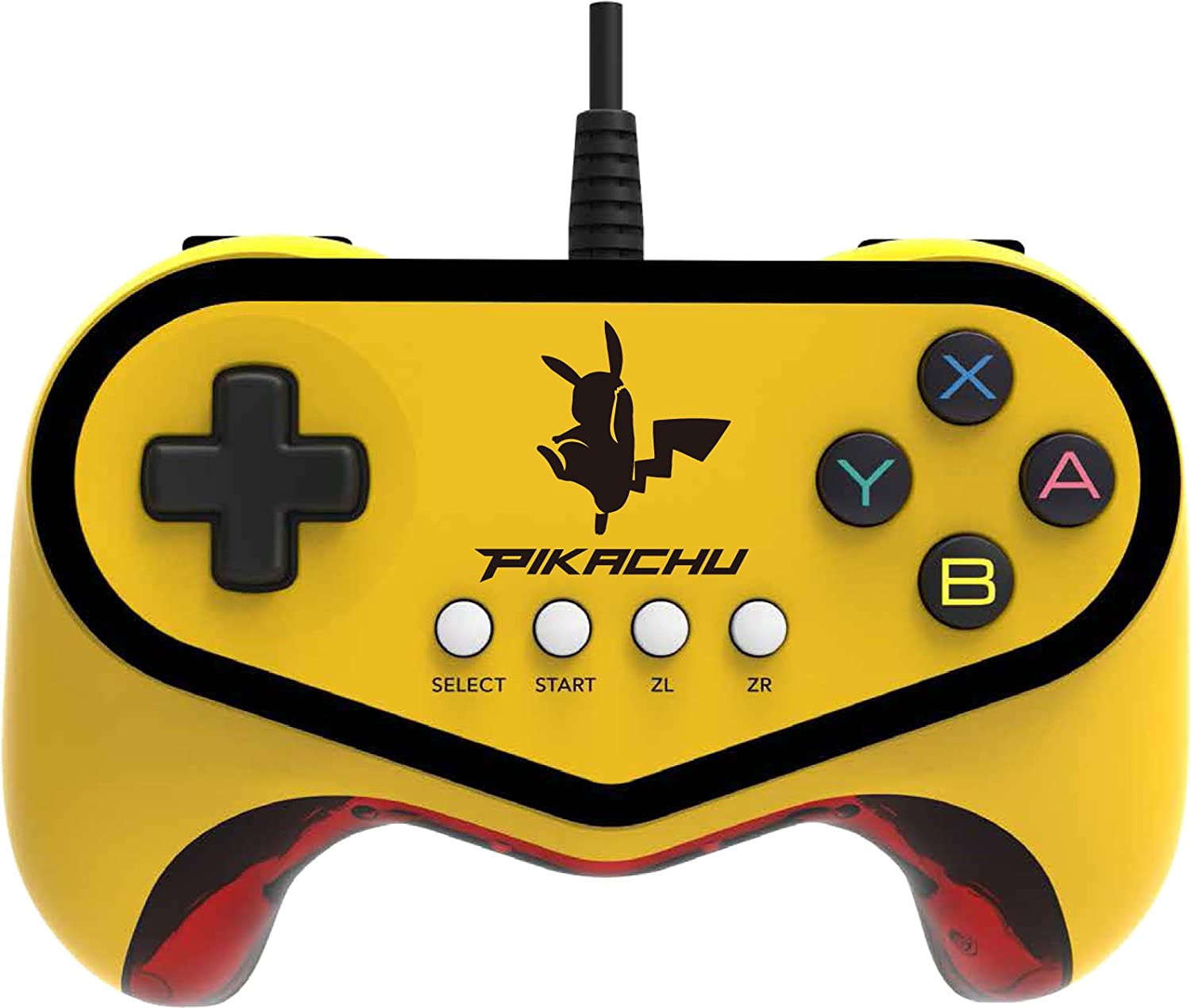 Hori Pokken Tournament Pro Pad Pikachu Limited Edition Controller - Nintendo Wii U