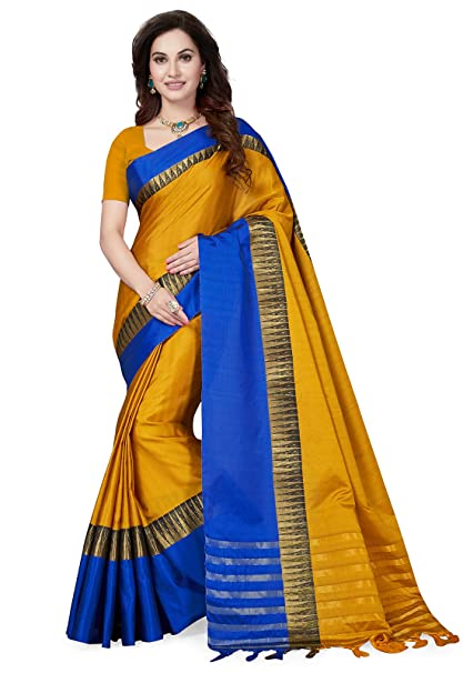 868f4254ed9 Image Unavailable. Image not available for. Colour  Ishin Art Silk Mustard  ...