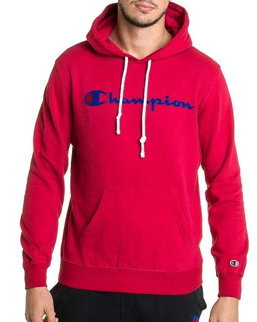 Champion Reverse Weave Hooded Sweatshirt, Sudadera con Capucha para Hombre: Amazon.es: Ropa y accesorios