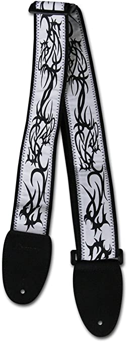 Ibanez gs601ta - wh guitarra Tattoo cinturón con patrón para ...