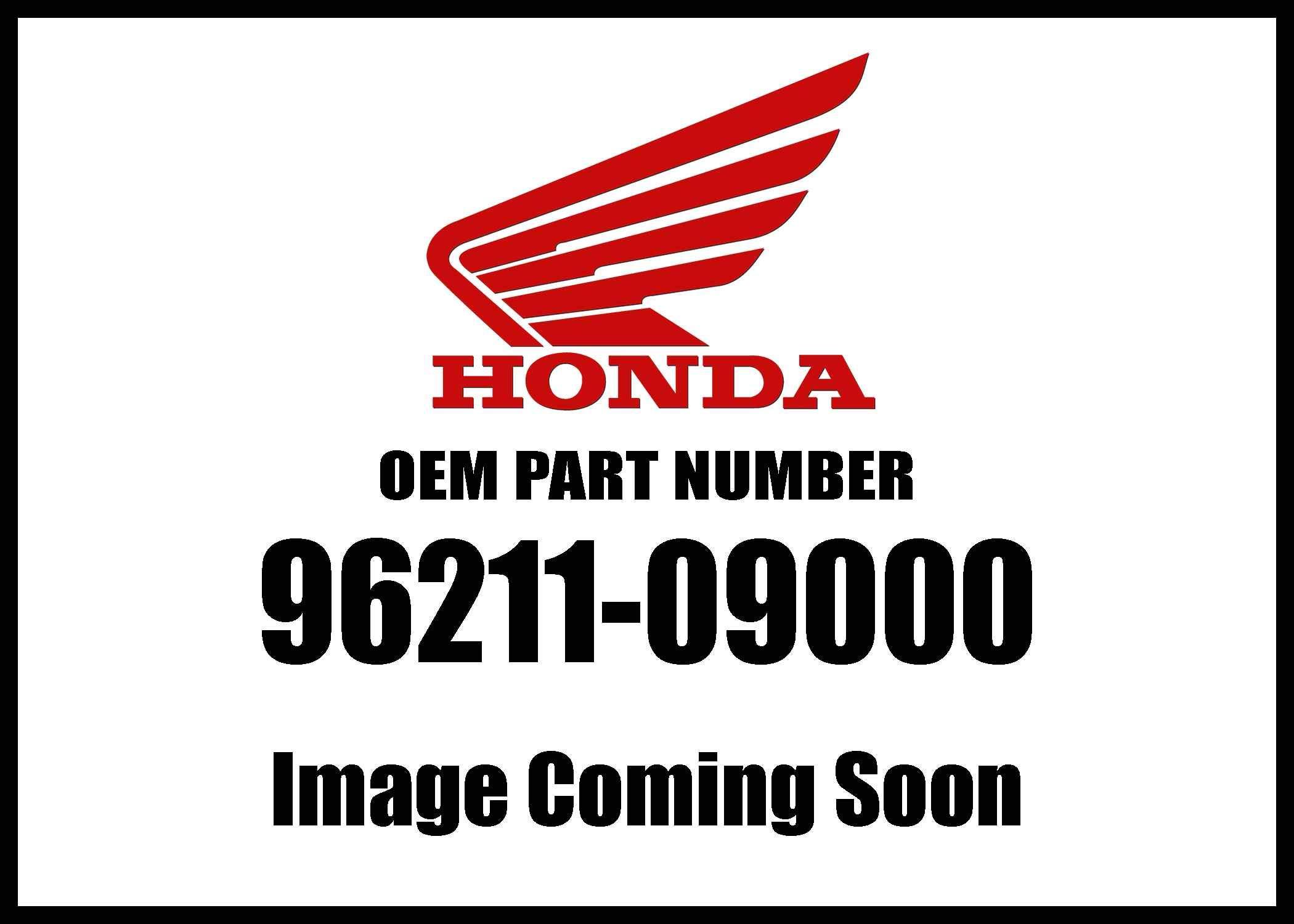 Honda 96211-09000 Ball (#9) (9 Genuine Original Equipment Manufacturer (OEM) Part
