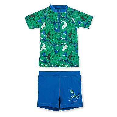 Langarm-Badeshirt Meeresblau Sterntaler Jungen Schwimmshirt UV-Schutz 50+