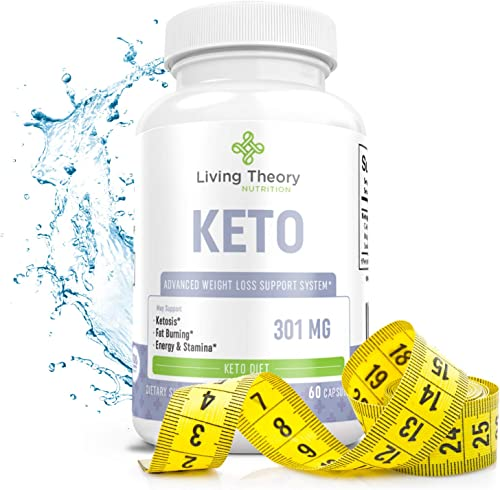 Pure Keto Slim Boost Pills with bhb exogenous Ketones Supplement for Advanced Weight Loss – Hunger Carb Blocker – Rapid Weight Loss Supplements – 60ct