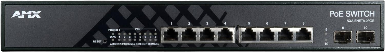 AMX POE switch NXA-ENET8-2POE