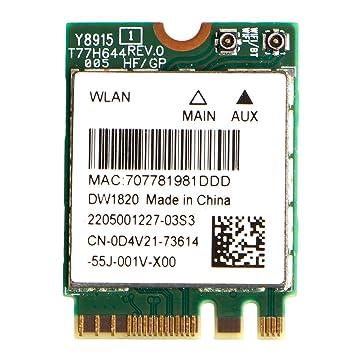 Amazon.com: kocome Dell dw1820 WLAN wifi Wireless tarjeta ...