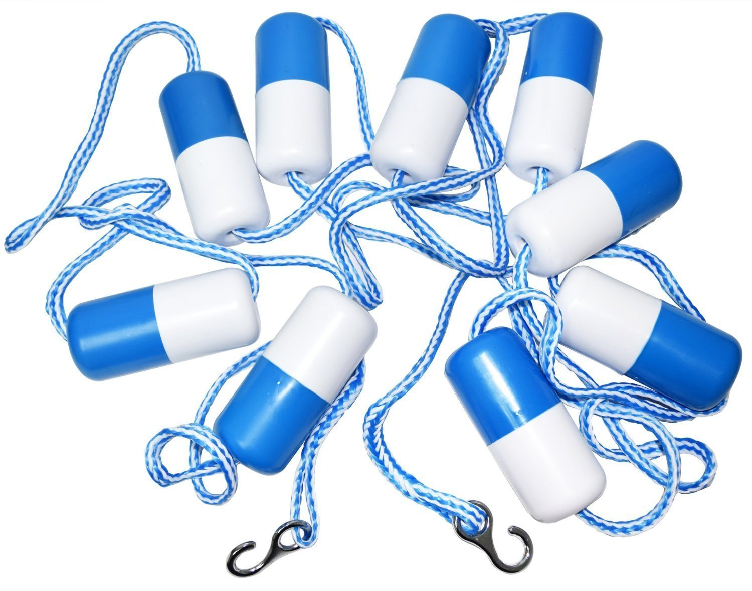 Blue Torrent BS 28851 Safety Rope Line Kit for Swimming Pools, 20' by Blue Torrent