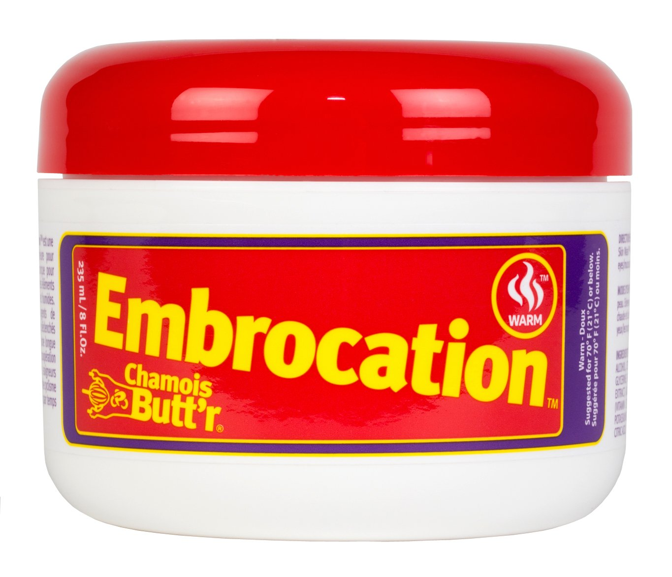 Chamois Butt'r Warm Embrocation 8oz jar